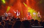 Die Seer auf der Künstlerbühne in Korneuburg