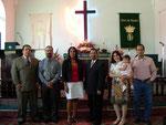 Foto del equipo pastoral de la Iglesia MPNC
