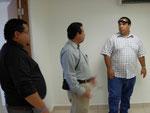 Pastores reunidos con Rev. Candelaria