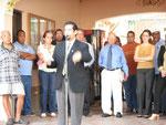 Dr. Isaac A. Candelaria Es invitado al Capitolio para llevar un mensaje de esperanza a los empleados