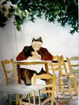 Alter Grieche, ca. DIN A 4, 150 Euro