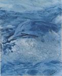 Flipper, 40 x 50 cm, Enkaustikpapier