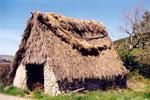 toit de chaume à Espinouse