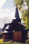 la stavkirke d'Hedalen
