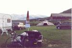 mon vélo au camping de Smegarden