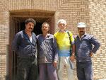 l'équipe des restaurateurs de monument