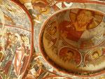 des peintures du XIIIème siècle de la chapelle Carikli Kilise (église aux sandales)