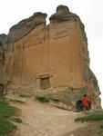 le tombeau phrygien de MidasSehir (VIIIème siècle avant J.C.)