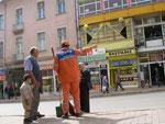le balayeur municipal de Sivas
