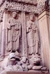 St Trophime d'Arles: côté gauche du porche
