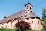 l'église romane de St Côme d'Olt