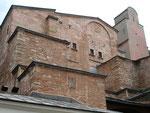 les murs extérieurs du VIème siècle