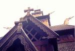 un dragon viking de la stavkirke