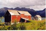 une maison de pêcheurs à Storslett