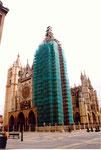 la cathédrale de Leon