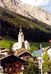 """le village de Splügen (classé """"bien culturel"""" suisse)"""