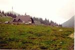 perdu dans l'alpage, le Cason di Lanza (maisonnette du Coq)