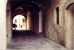 Martigny: passage voûté