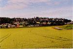 la campagne très cultivée de Stjordal