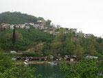 village de pécheurs sur la Mer noire