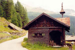 chapelle à Sulden (Trentin Haut-Adige)