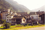 le village de Valbregaglia