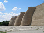 la citadelle de l'Ark à Boukhara