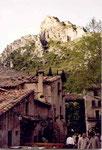 St Guilhem le désert: le village