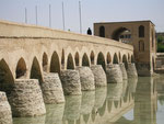 le pont Shahrestan d'Ispahan (IIIème-XIème siècle)