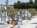 le Golestan Shohada (roseraie des martyrs) d'Ispahan, cimetière de la guerre Iran-Irak (1980-1988)