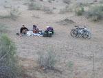 bivouac au désert