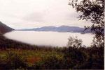 la mer de brouillard