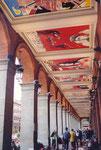Toulouse: arcades sur la palce du Capitole