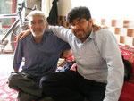 le coiffeur et son ami anglophone de Gonbad-e Qabus