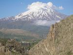 le mont Damavand (5610 m)