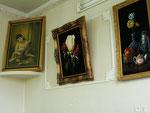 des peintures misérabilistes à l'hôtel de Zanjan
