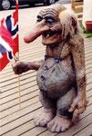 un troll à Honningsvag