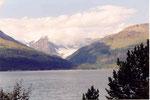 un glacier du Lyngenfjord