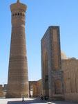 la tour Kalon construite en 1127 fait 48 mètres de haut