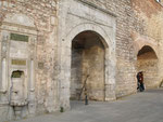 la sublime porte du palais du sultan qui donnera son surnom à l'Empire ottoman