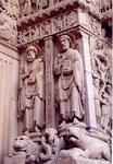 St Trophime d'Arles: côté droit du porche