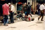 le commerce du trottoir