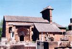 l'église romane de Perse à Espalion