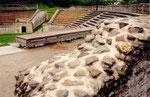 amphithéâtre romain de Martigny: la scène