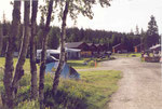 ma tente au camping de Venabygd