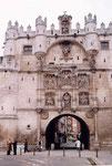 la porte Ste Marie de Burgos