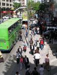 sur les trottoirs d'Ankara