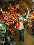 marchand de luminaires d'Istamboul