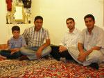 à Chaman-e bid, chez mon hôte