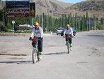 l'avant-garde des cyclos iraniens
